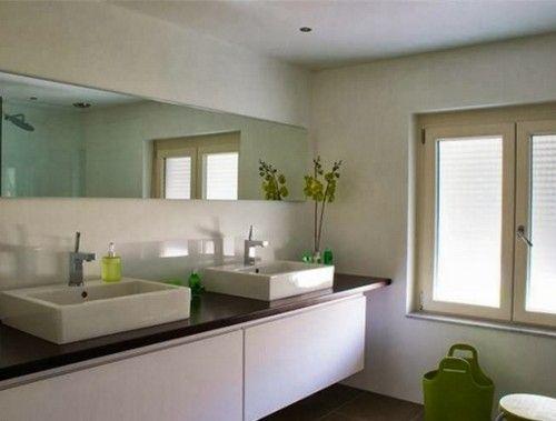 15 ba os modernos en color blanco ideas para el hogar for Decoracion de banos modernos y elegantes