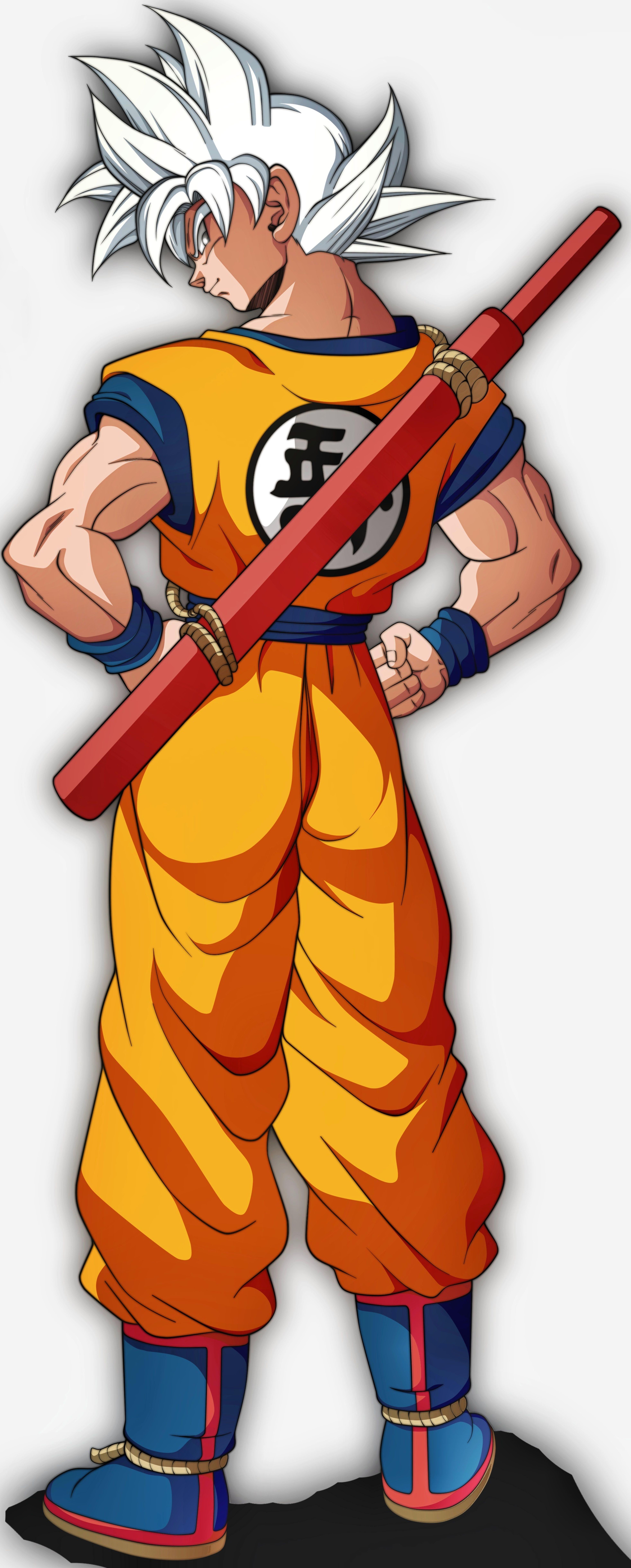 Goku Ultra Instinto Dominado Universo 7 Personajes De Dragon Ball Dragones Arana Dibujo