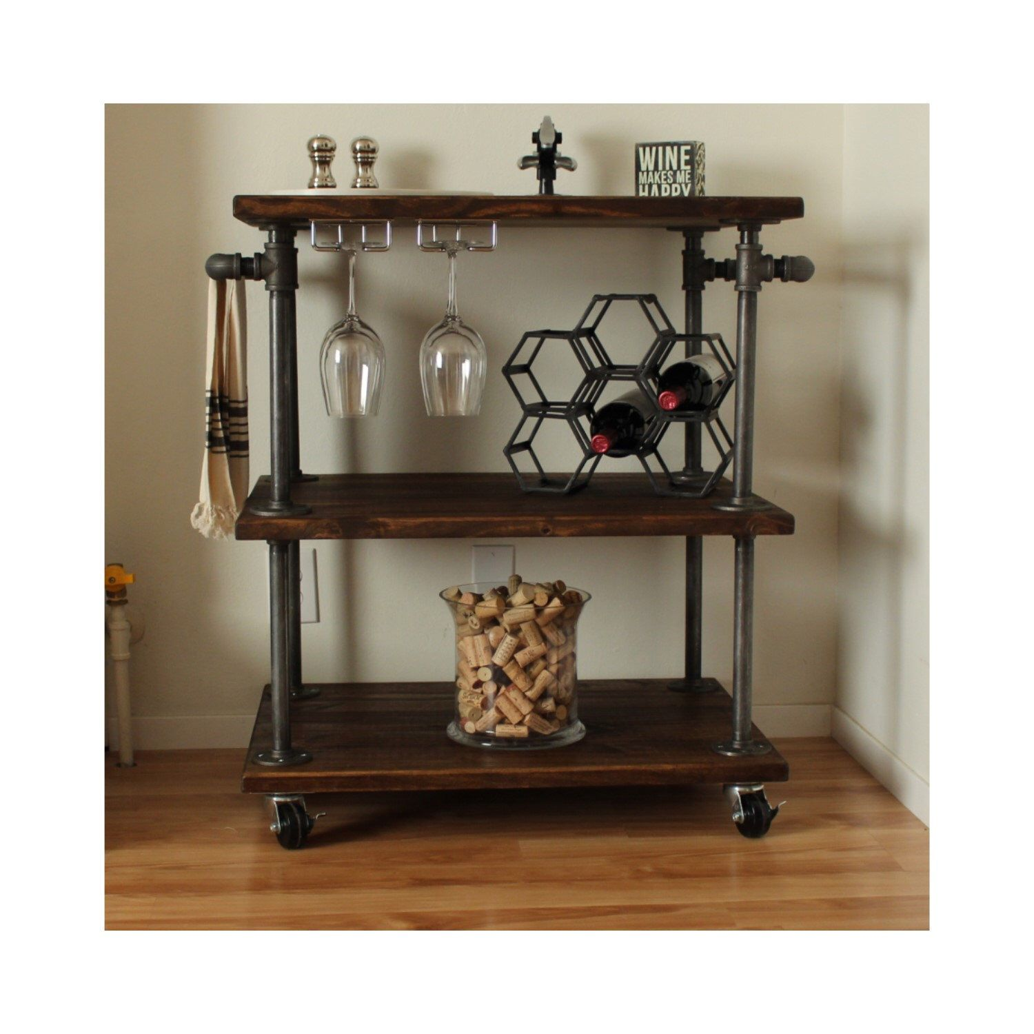 kitchen coffee cart commercial hot box industrial bar