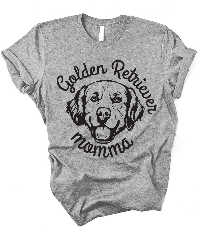 Golden Retriever Momma Shirt Dog Mom Shirt Golden Retriever