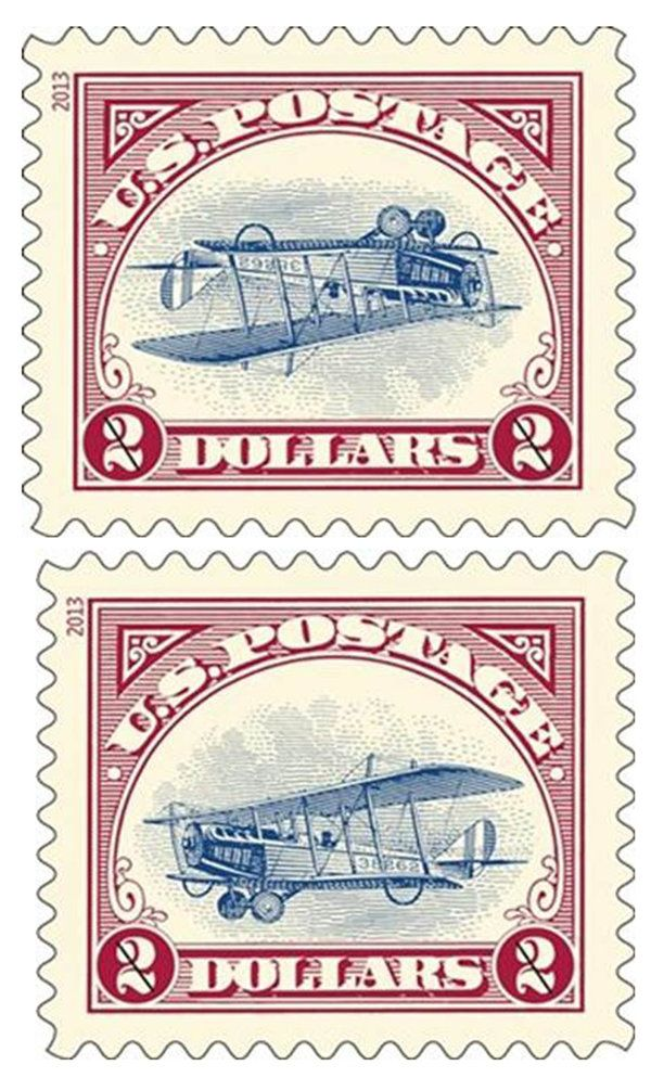 pa man lands corrected 1918 stamps so now you know