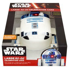 Star Wars Large R2 D2 Celebration Cake Global Groceries
