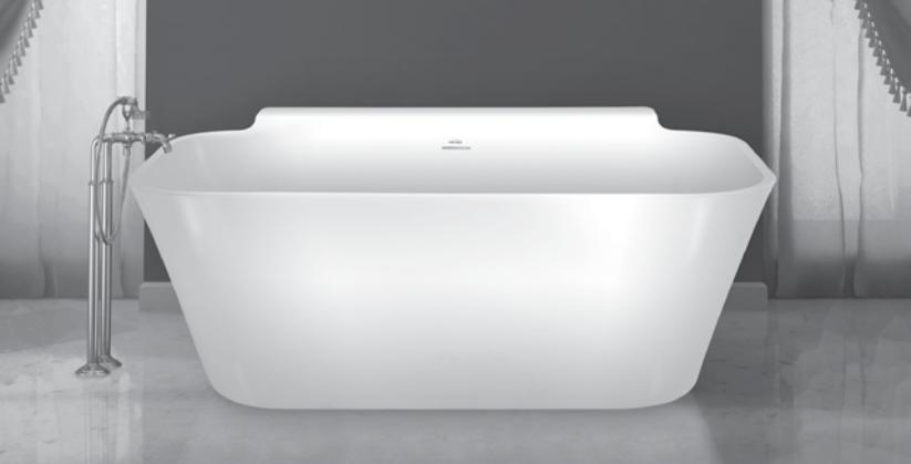 hydro systems metro - richmond bathtub - shelf. george's pasadena