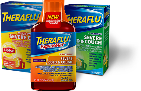 Relieve Cold And Flu Symptoms Theraflu Products I Love
