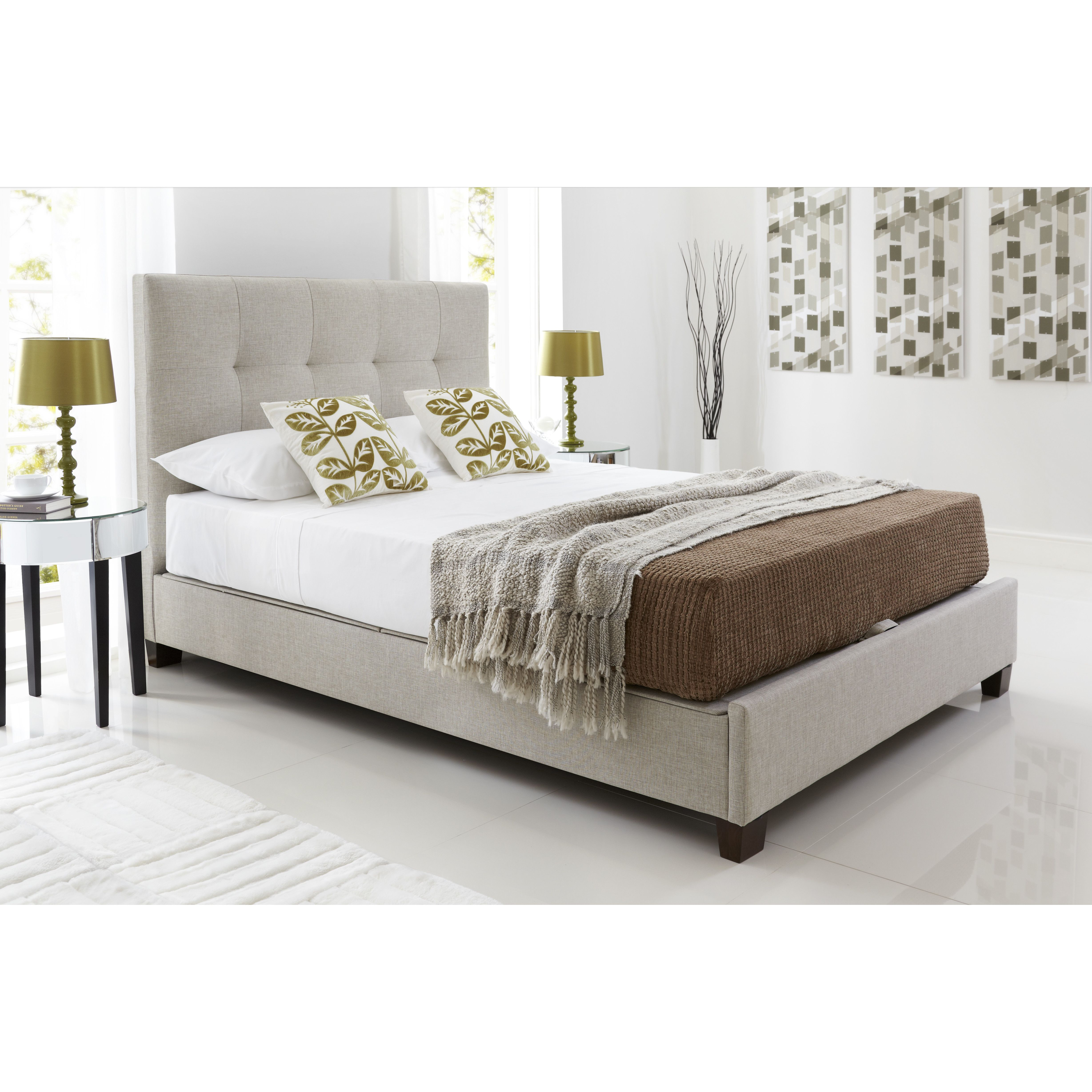 Customer Image Zoomed Ottoman bed, Ottoman storage bed