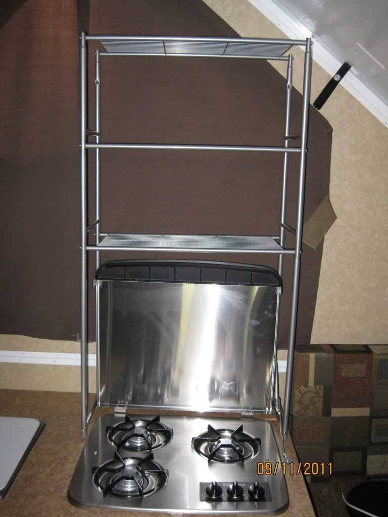 Storage ideas for A-Frame campers - Forest River Forums