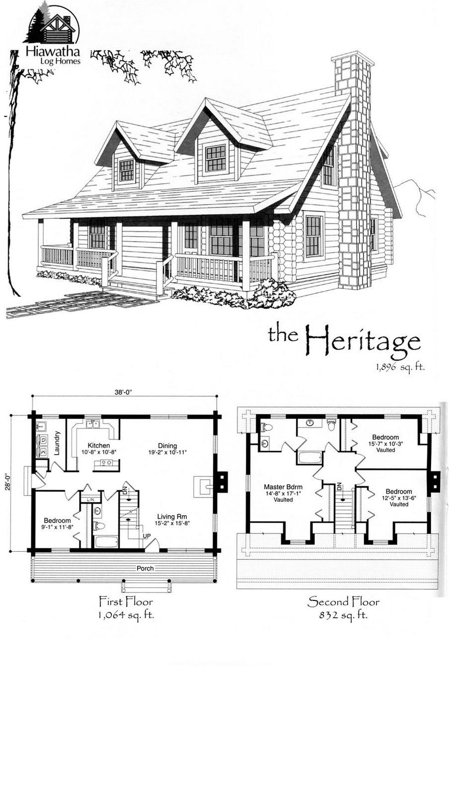 Favorite Log Home Floor Plan