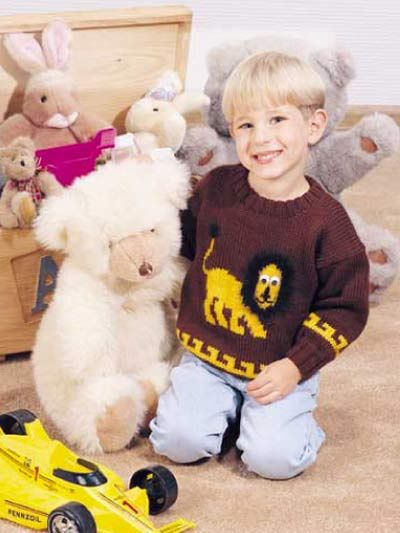 Lester The Lion Free Knitting Pattern Of The Day From Freepatterns