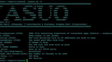 http://seclist.us/yosuo-v2-3-is-a-ruby-script-that-scans-for-vulnerable-exploitable-3rd-party-web-applications-on-a-network.html