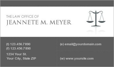 Lawyer business card logos pinterest lawyer business card reheart Images
