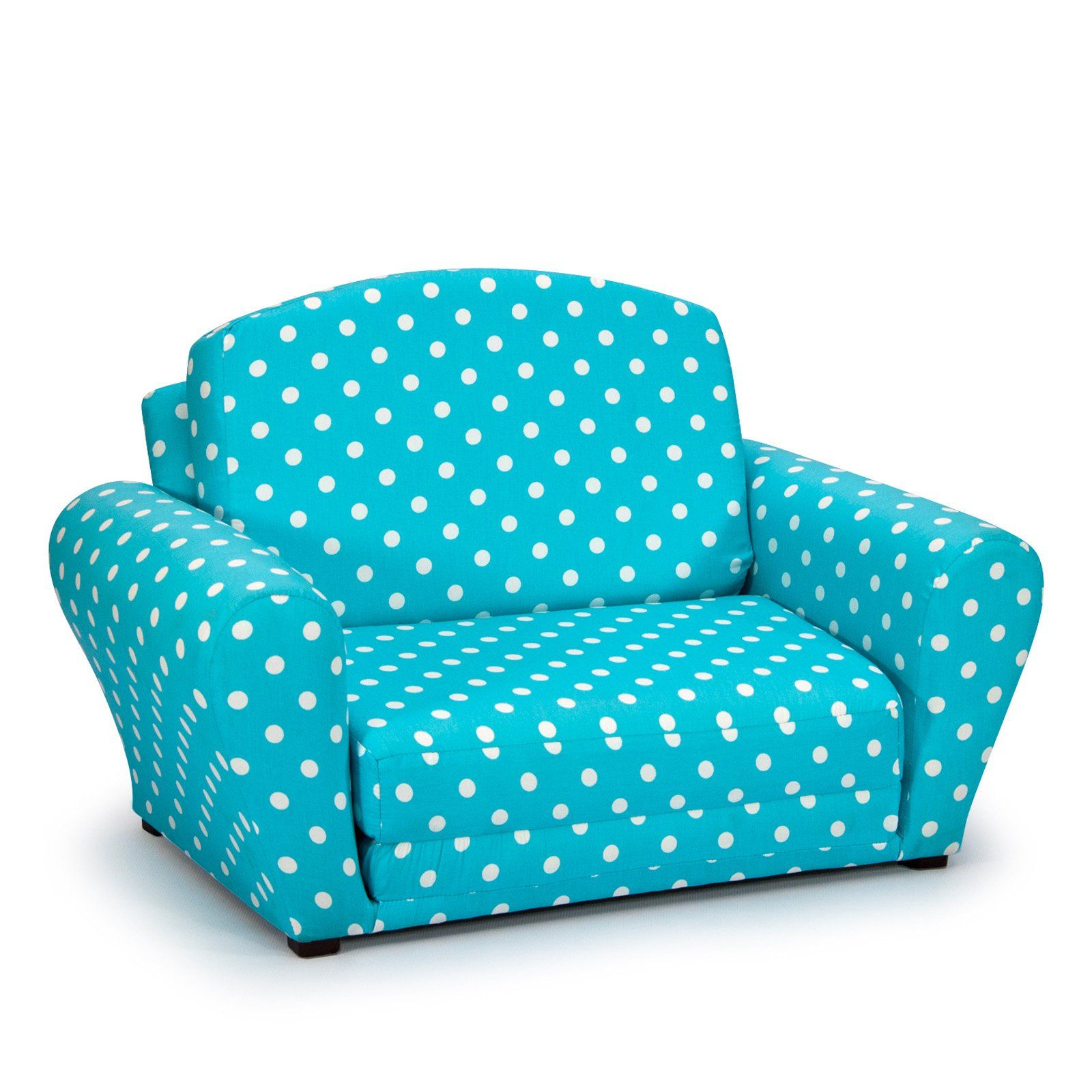 Polka Dots Y Blue Sleepover Sofa