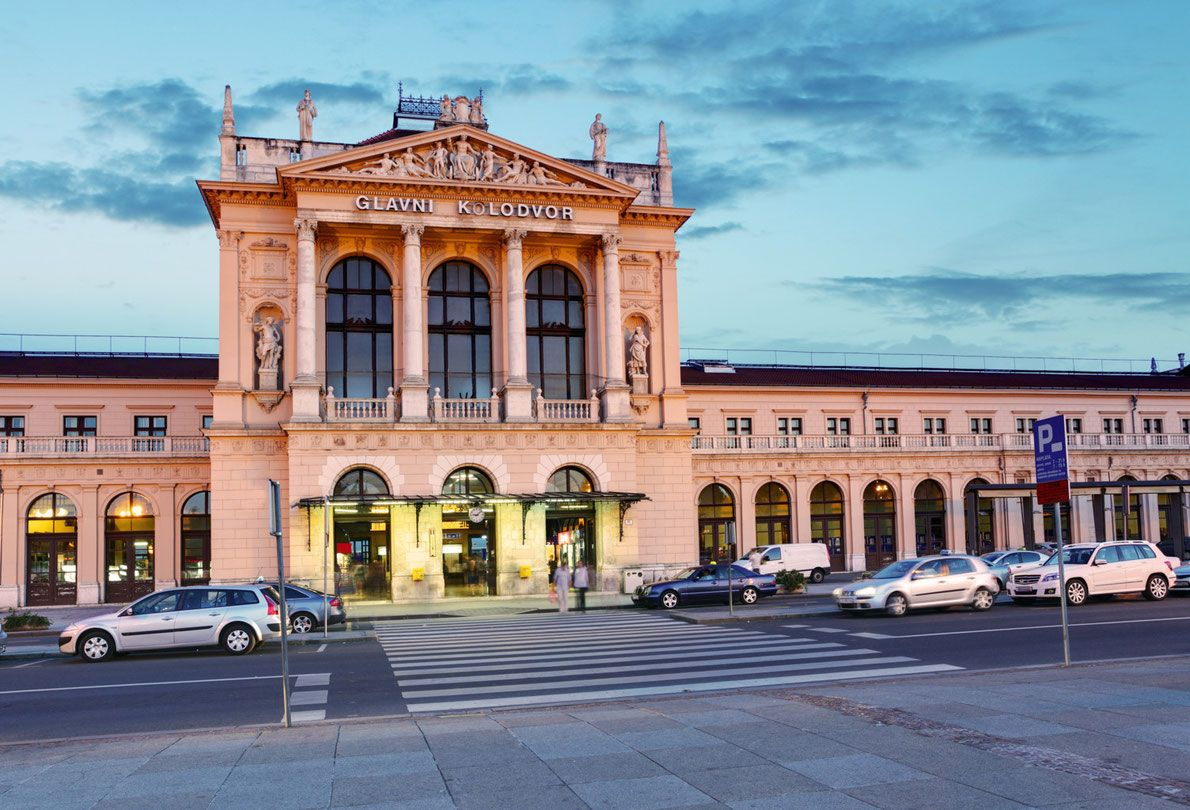 Best Railway Stations In Europe Zagreb Central Station Copyright Ttstudio Railway Station Amazing Destinations Central Europe