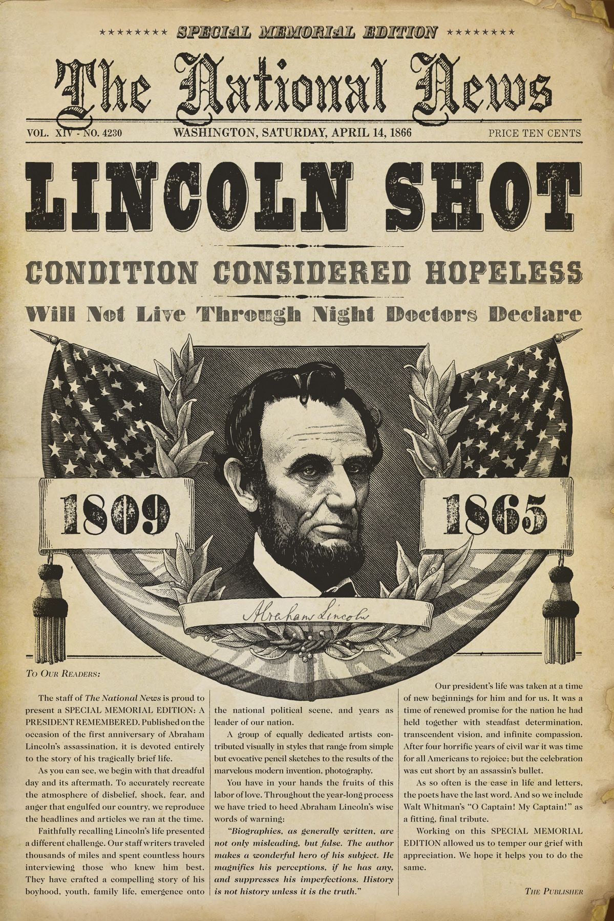 Abraham Lincoln Died As A Result Of A Conspiracy John