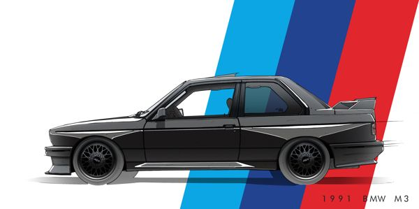 Comissioned Illustrations Updated 02 03 14 On Behance Luxury Cars