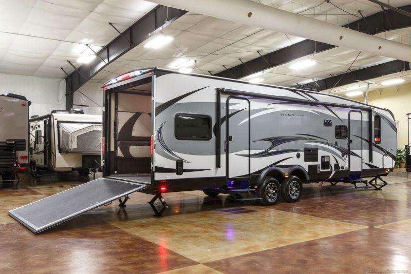 New 2016 29hfs lightweight lite 4 season toy hauler travel trailer new 2016 29hfs lightweight lite 4 season toy hauler travel trailer w slide out sciox Gallery