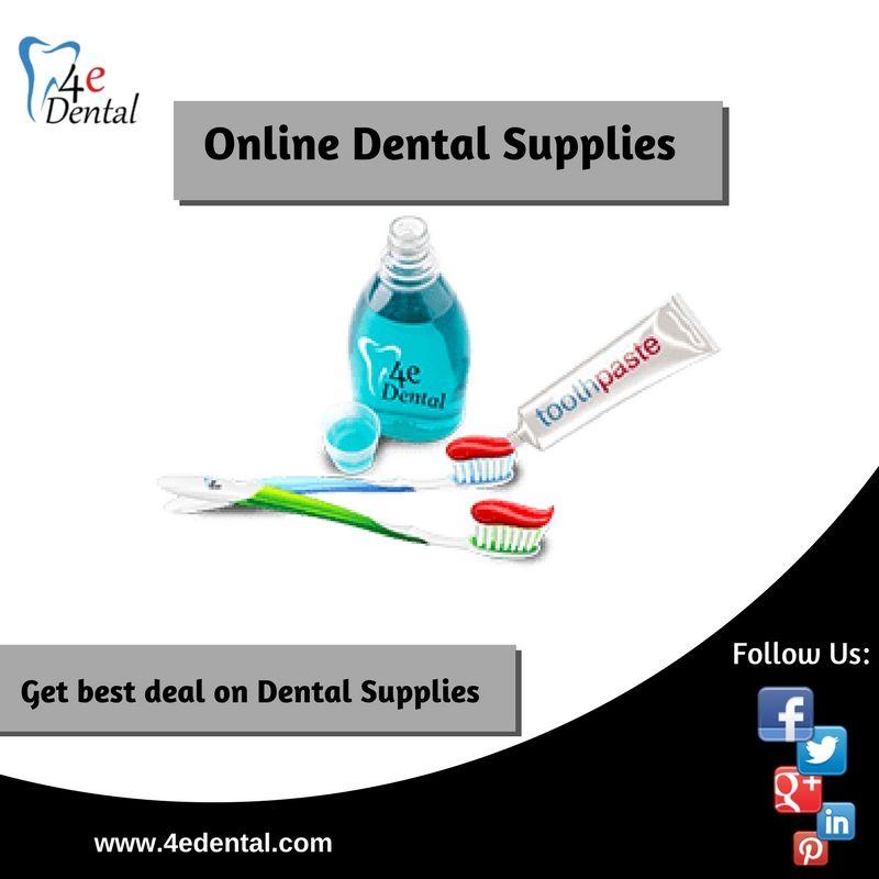4edental is onlinedentalsupplier that best suit your