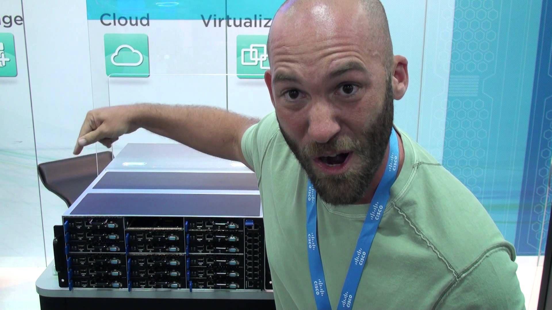 AMAX Micro Cloud Server - InterOp 2013 Booth Crawl