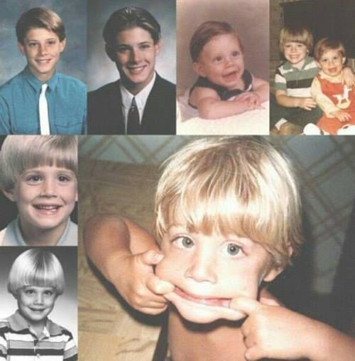 Young Jensen Ackles he...