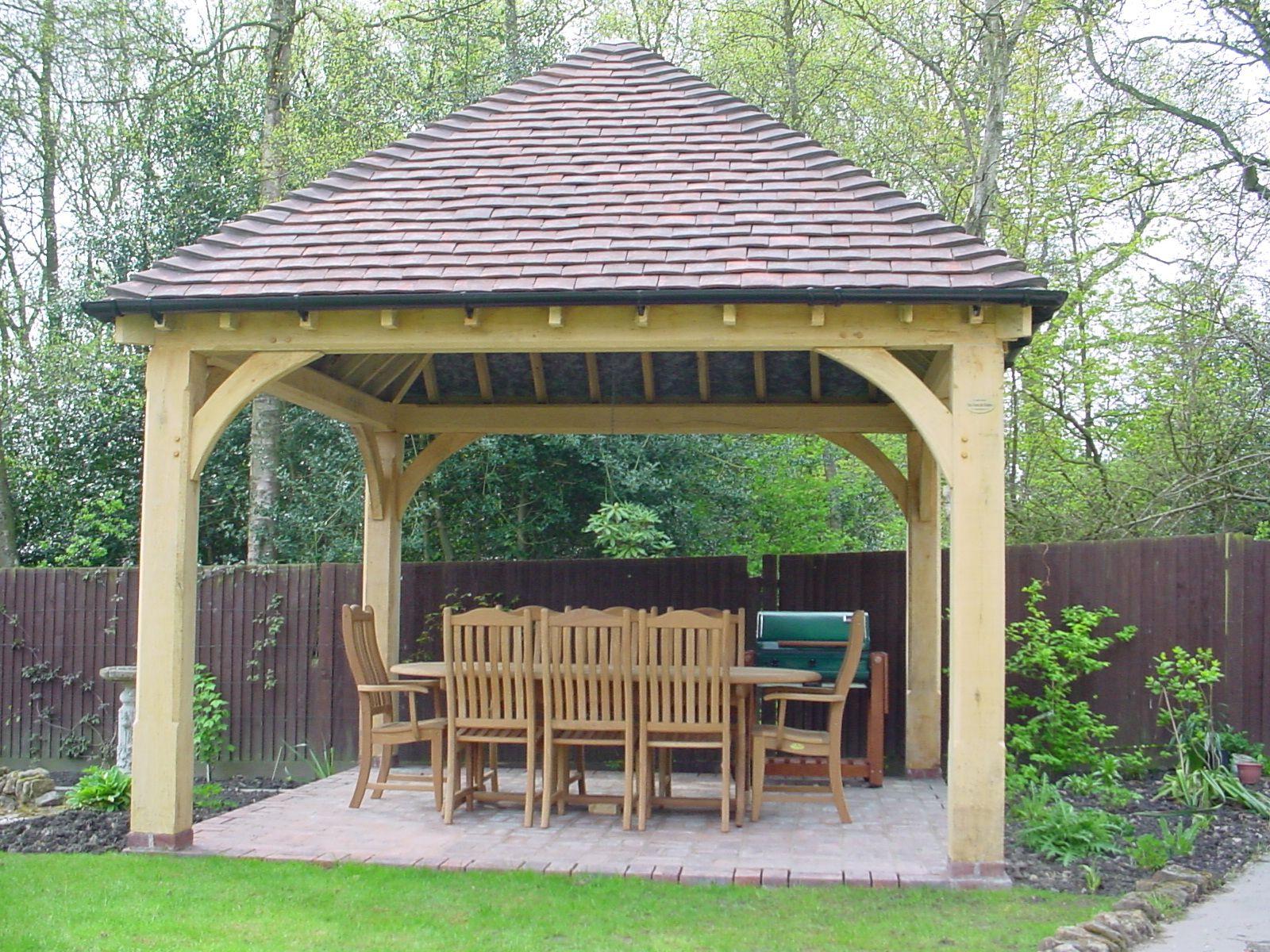 green oak garden gazebo pictures - Google Search | Gazebo ...