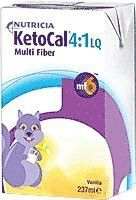 KetoCal 4:1 Vanilla Flavour Ready-to-feed Liquid 8 oz. [Case of 27]