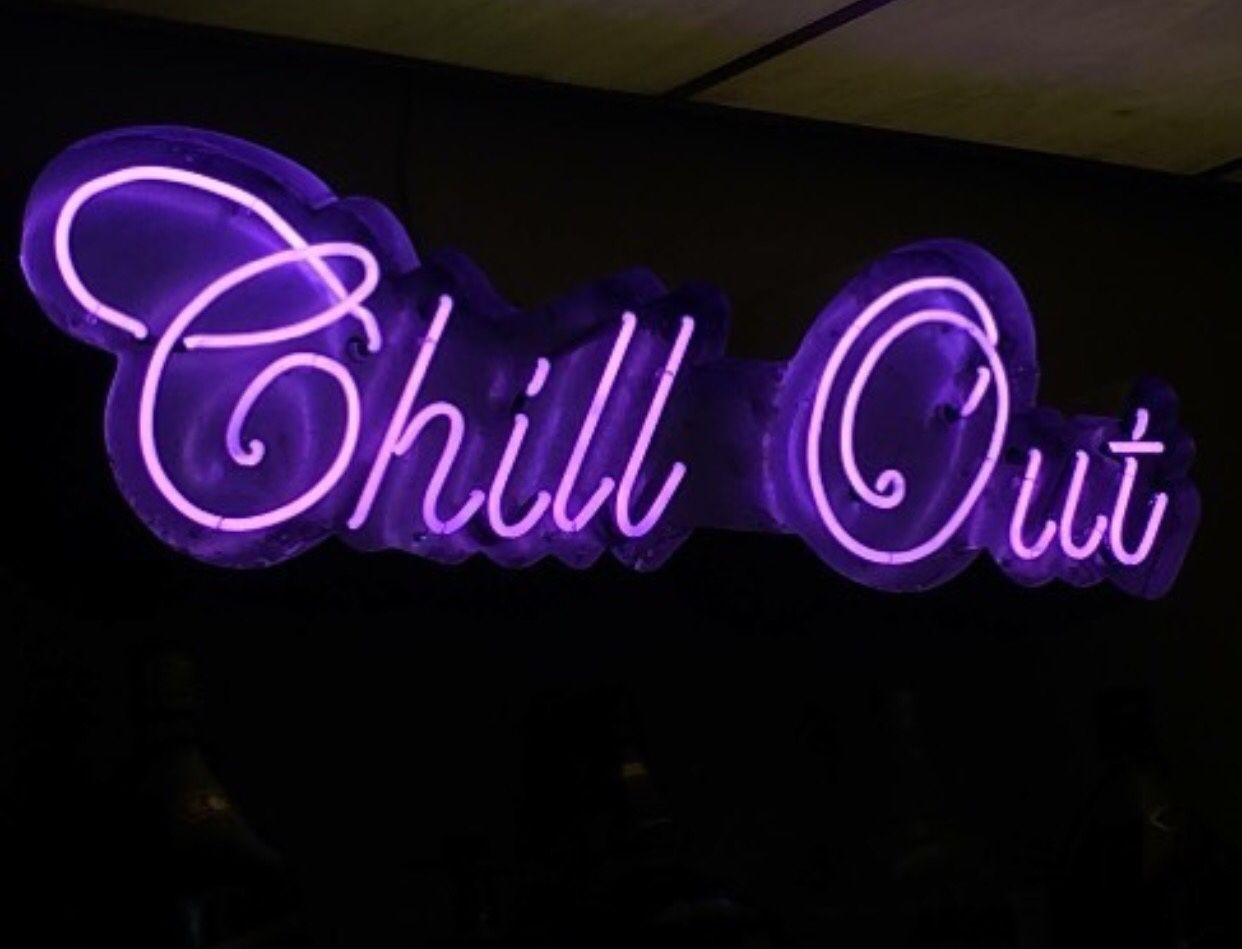 Grungeful Mind💜 Neon quotes, Neon aesthetic, Neon signs