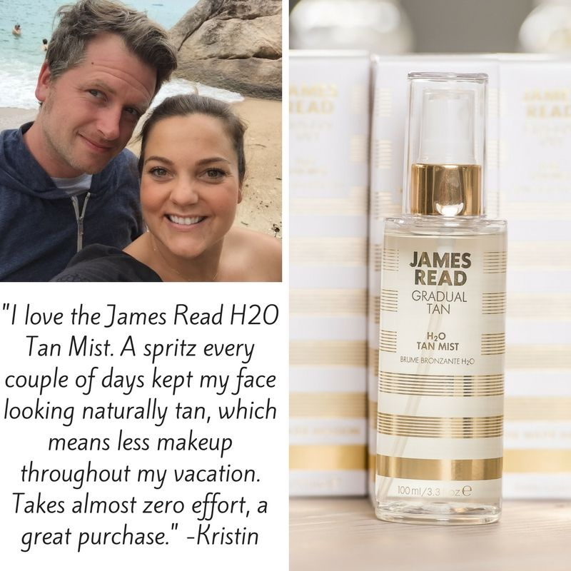 1f3669dc6ed50 James Read Tan H20 Tan Mist will create a subtle glow on your face. You can  use this magic self tanner on a daily basis and build upon your tan.
