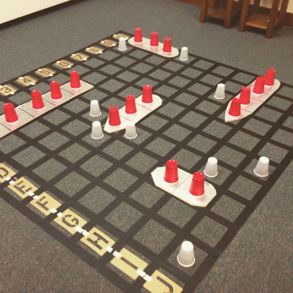 Life Sized Battleship Youth Pastor Gear Board Games Pinterest