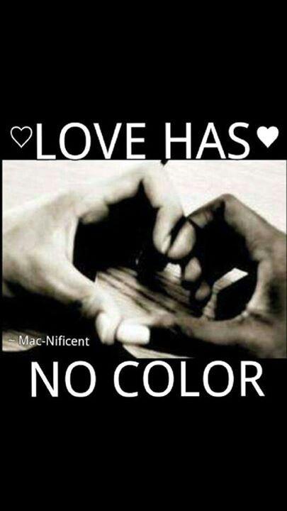 Love Has No Color. Interracial ...