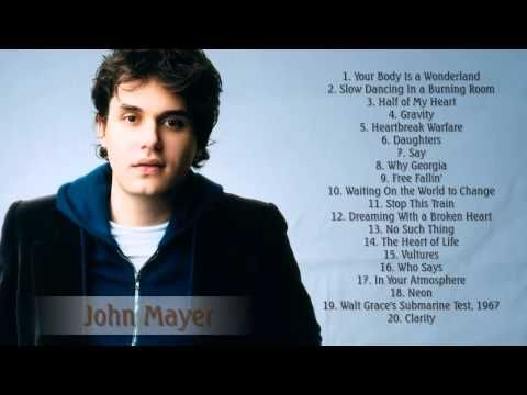 John Mayer Greatest Hits (Full Album 2015 Edition) - The Best Of John Mayer - YouTube