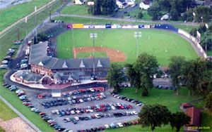Williamsport Crosscutters At Historic Bowman Field Williamsport Ballparks Stadium