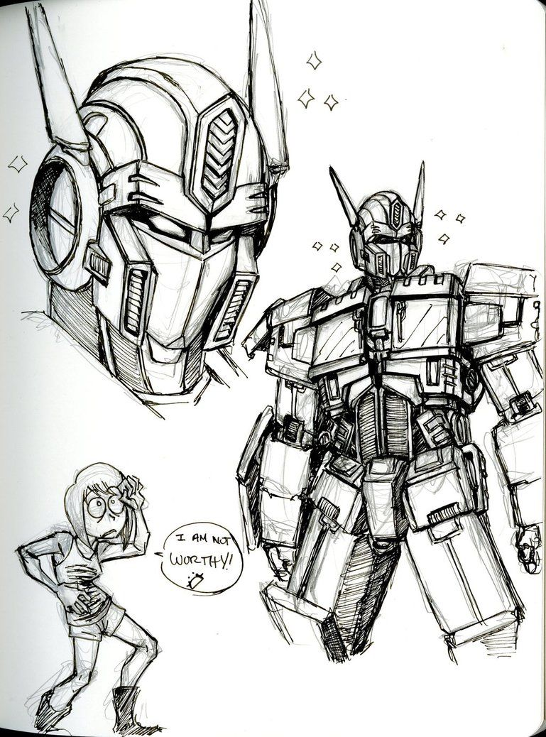 Transformers sketches optimus prime google 搜尋 cartoons