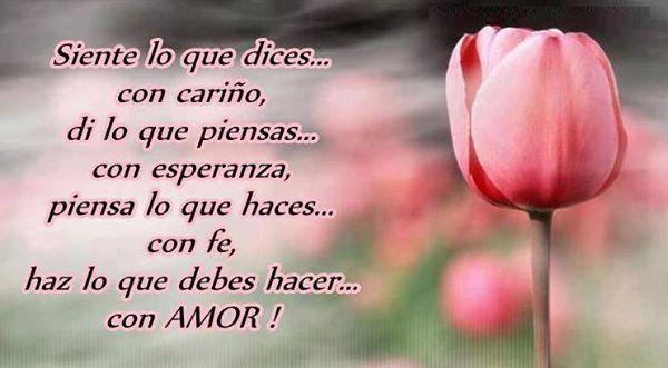 Frases Bonitas Para Facebook: Hazlo Con Amor | Frases Para Pensar Reflexionar y ...