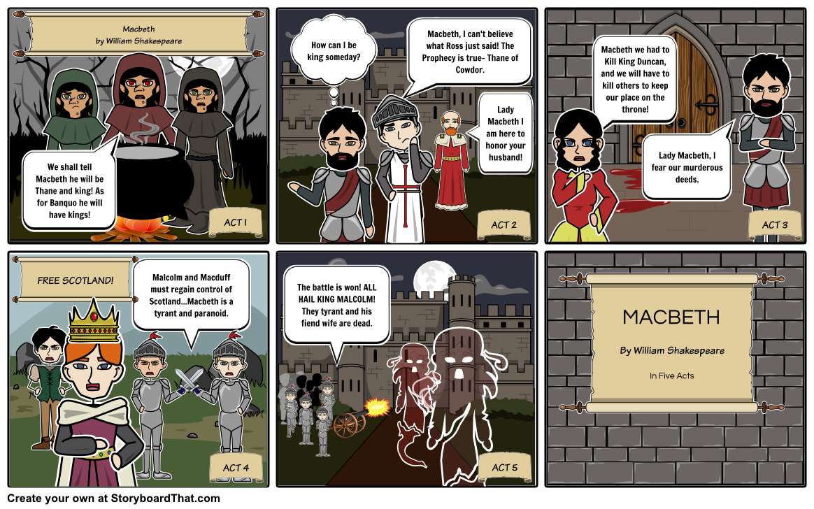 Double, Double Toil and Trouble- a Magical Macbeth Unit Plan