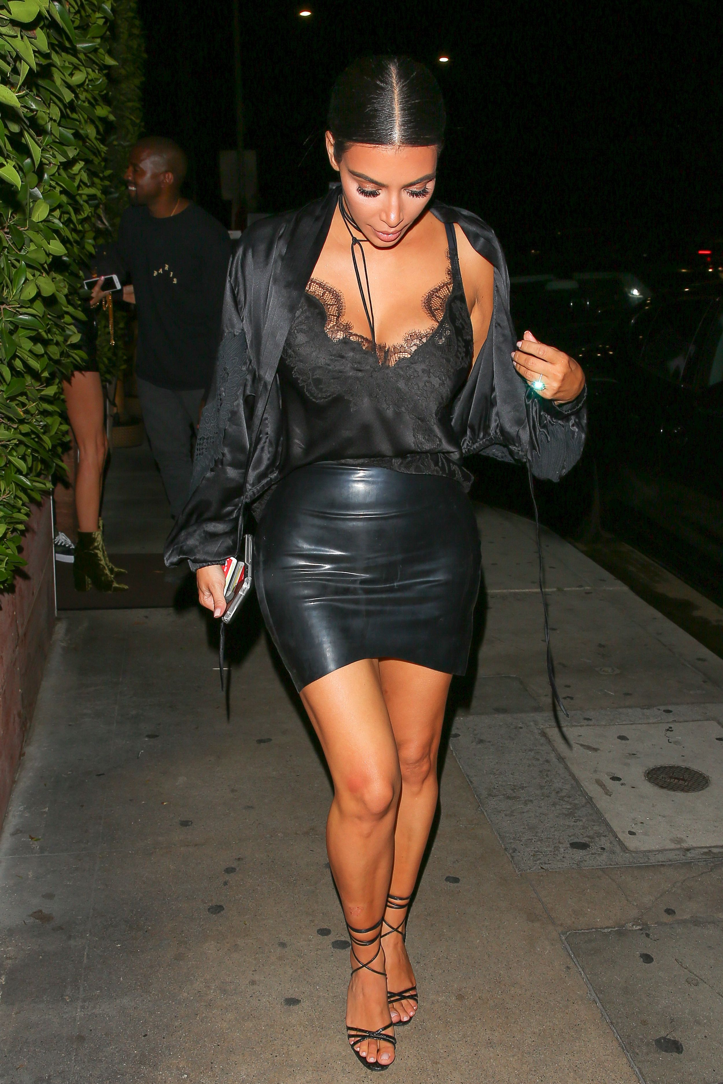 Fashion week Latex much little time kim kardashian melbourne for woman