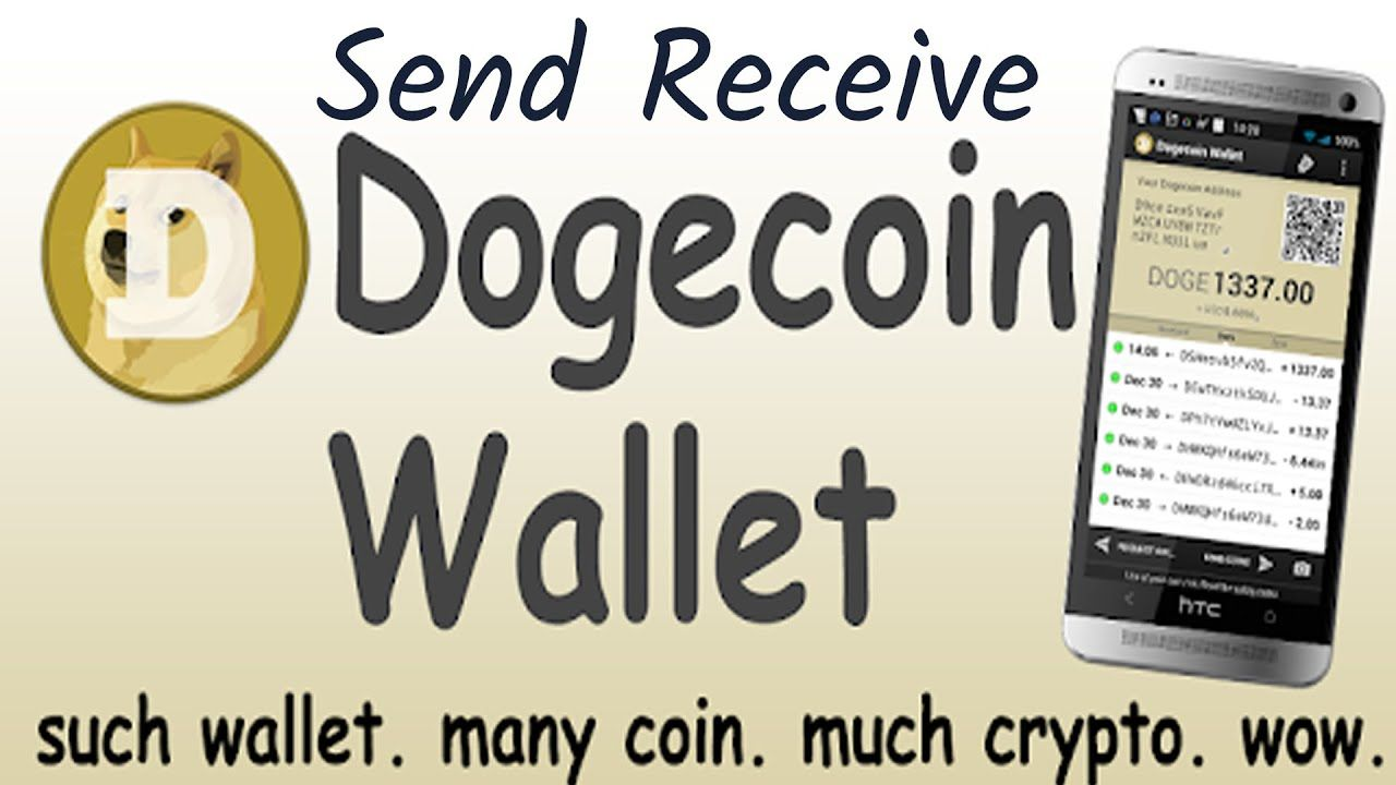 How To Make Transaction In Dogecoin Wallet By Crypto Wallets Info Dogecoin Wallet Investment Advice Crypto Wallet