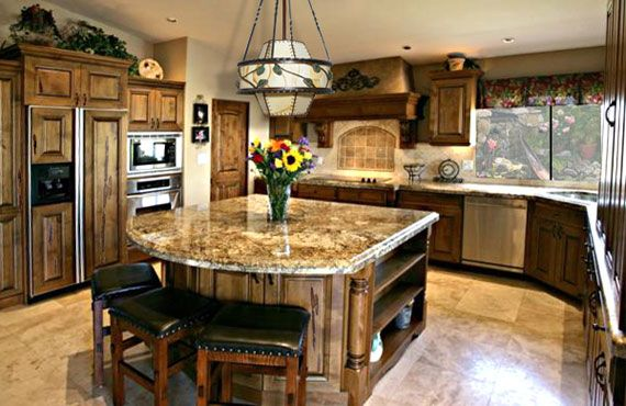 Custom Kitchen Islands With Seating Image 857 --   kaamz