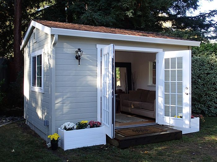 The Shed Shop Studio Model U2013 Ideal For Backyard Home Office Or Studio U2013  Sizes U0026