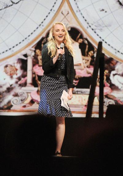 Evanna Lynch at A Celebration of Harry Potter