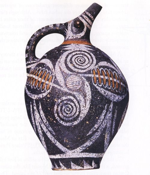 arthistry kamares jug from phaistos crete made of terra