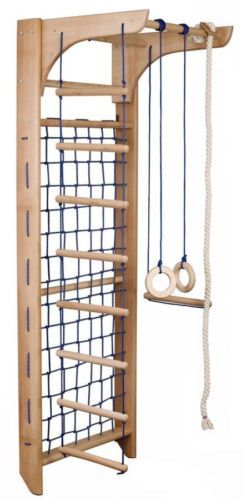 Kletterwand Kinderzimmer kinder kletterwand piccolo 8 240 sprossenwand turnwand klettergerüst