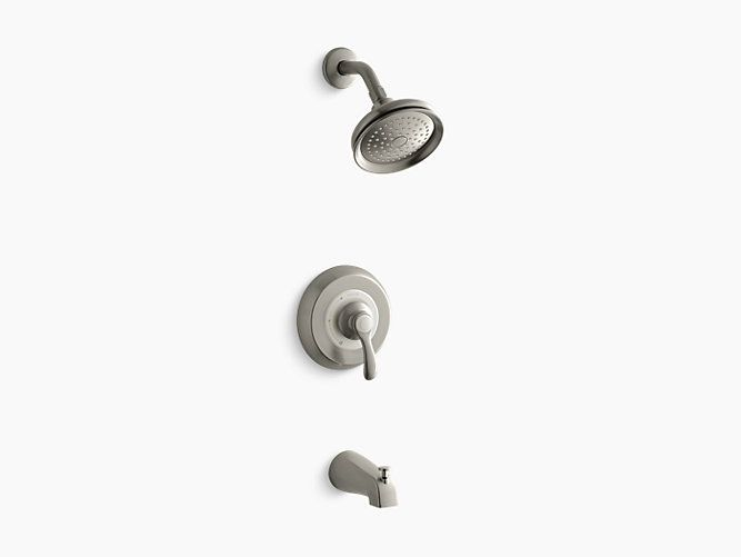Cool K TS 4S Fairfax Rite Temp bath and shower valve trim with lever handle slip fit spout and 2 5 gpm showerhead Plan - Fresh shower knobs New Design