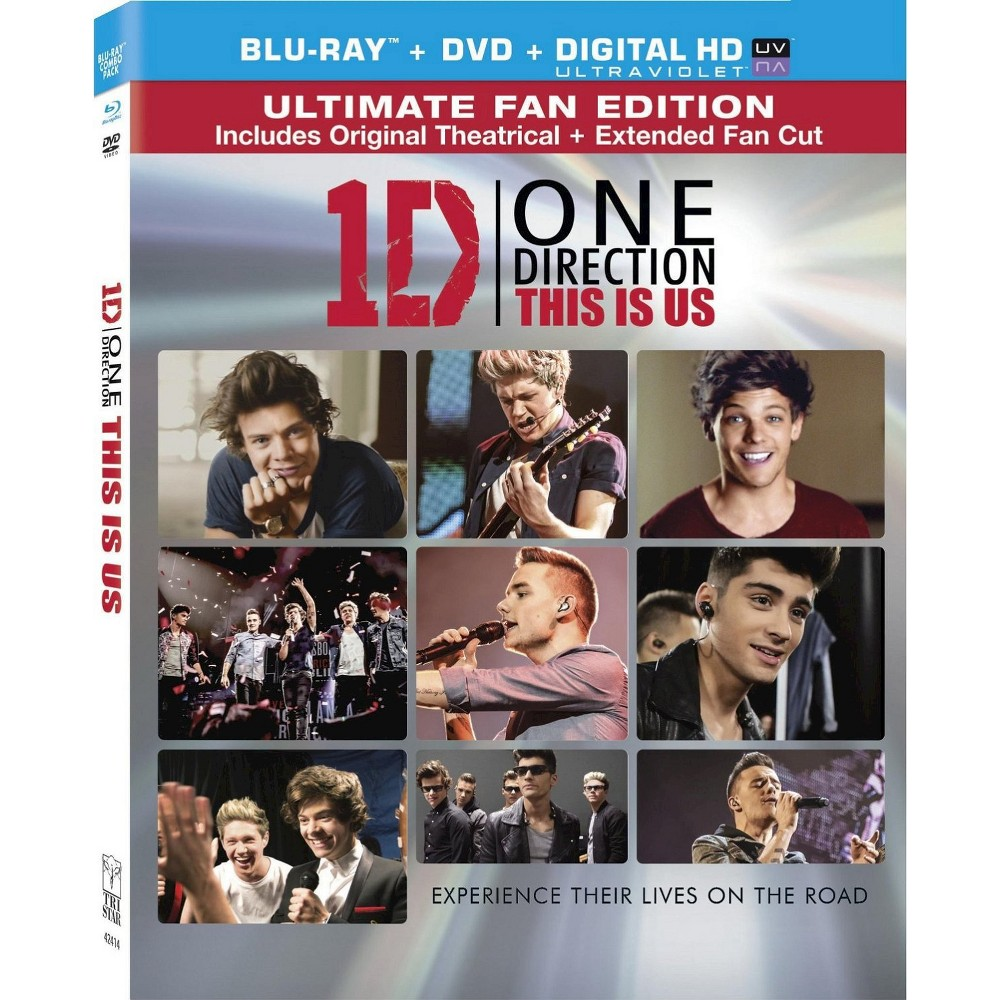 One Direction This Is Us 2 Discs Includes Digital Copy Ultraviolet Blu Ray Dvd One Direction One Direction Merch I Love One Direction