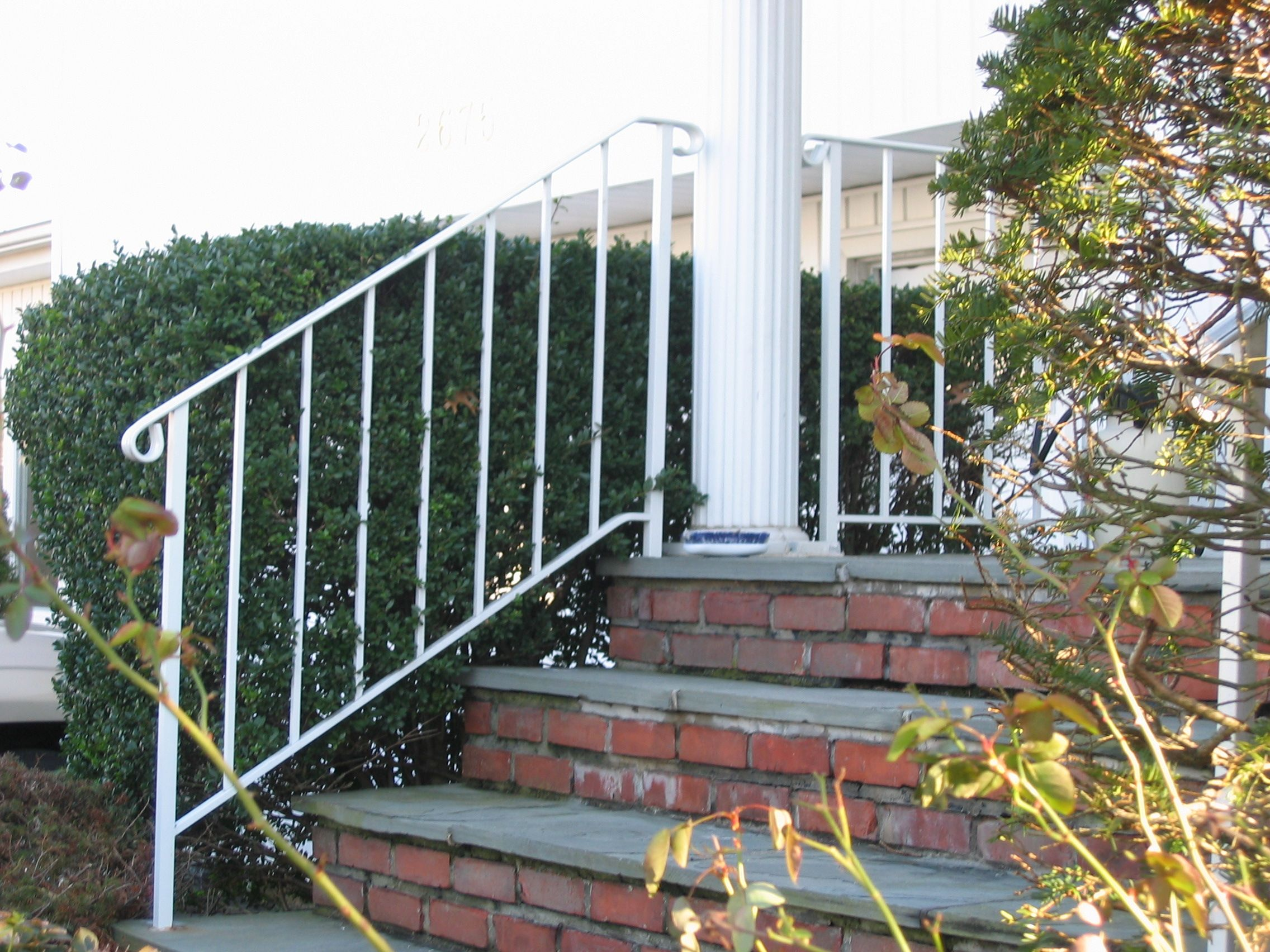 Interior Use White Wrought Iron Railing Google Search