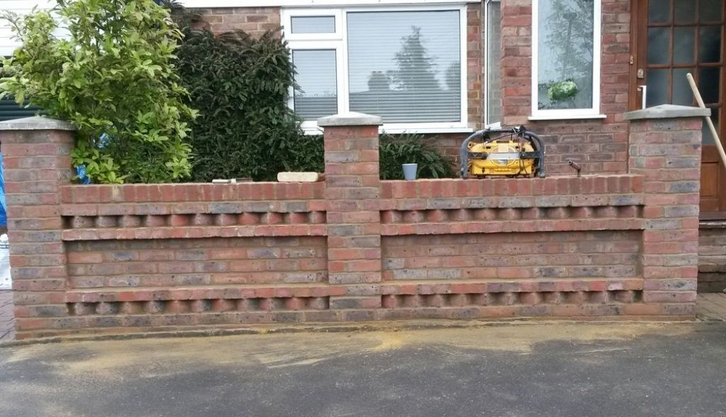 front garden brick wall designs brick wall cap google search walls and fences pinterest best decor - Brick Wall Fence Designs