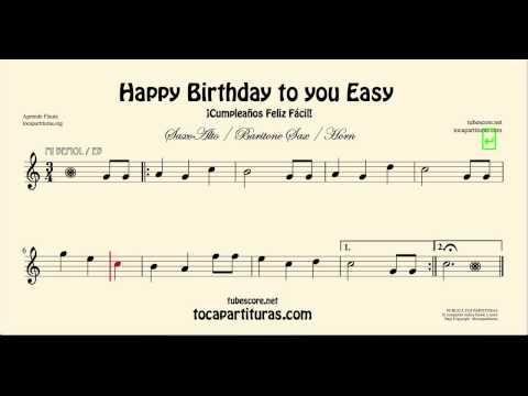 happy birthday saxophone youtube