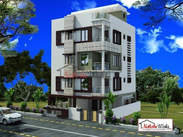 3d front elevation design indian front elevation kerala for Indian house models for construction
