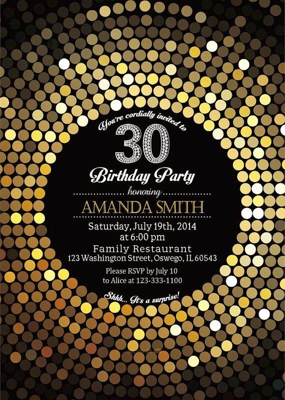 30th birthday party invitation women elegant by soardandelion 30th birthday party invitation women elegant by soardandelion filmwisefo