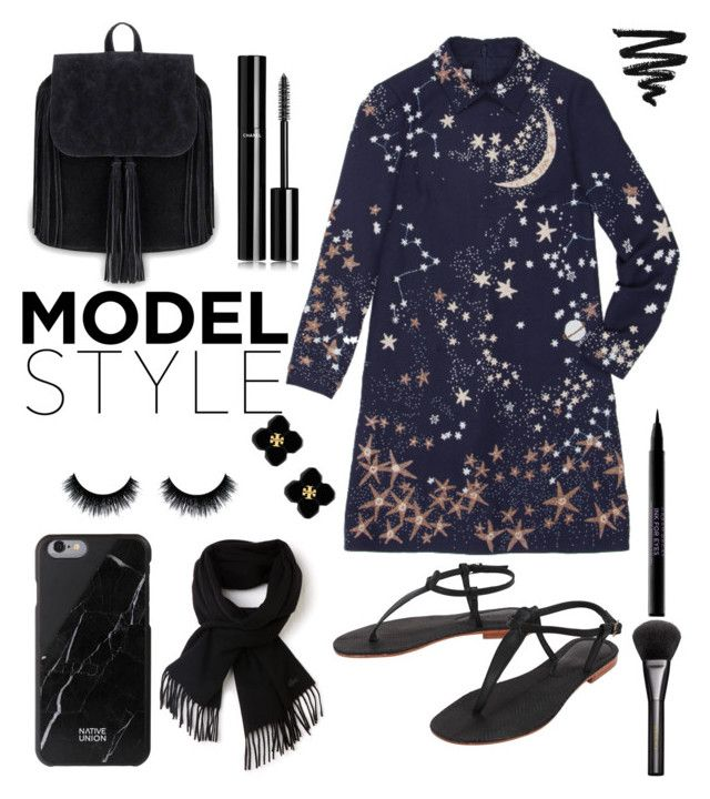 """""""model style ❤"""" by linoyasu-i ❤ liked on Polyvore featuring Valentino, Cocobelle, Native Union, Lacoste, Tory Burch, Chanel, Urban Decay and Gucci"""