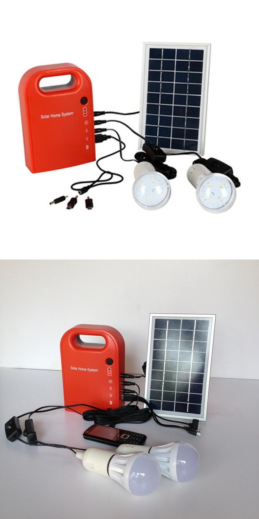 Visit to Buy] Led Solar Lamp Panels Powered Battery 6V 4 5Ah