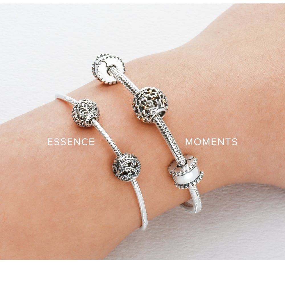 Pandora Jewelry For Sale: Pandora ESSENCE Silver Bangle 596006